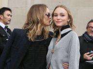 Vanessa Paradis et Lily-Rose Depp, mère et filles complices à la Fashion Week