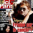 """Couverture du magazine """"Ici Paris"""" en kiosques le 8 mars 2017"""