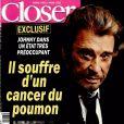 """Couverture du magazine """"Closer"""" en kiosques le 8 mars 2017"""