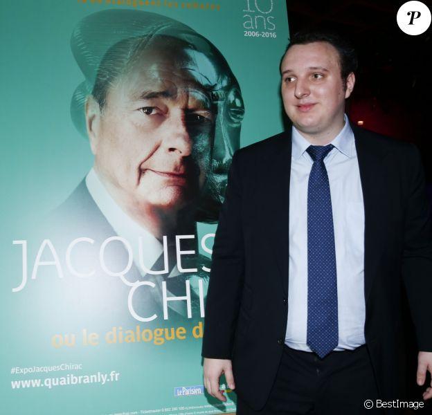 """Martin Rey-Chirac - Inauguration de l'exposition """"Jacques Chirac ou le dialogue des cultures"""" au musée du Quai Branly à Paris, le 20 juin 2016. © Olivier Borde/Bestimage"""