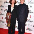 Costa Gavras et sa femme Michèle Ray-Gavras lors de la soirée de clôture du 14ème festival du film de Monte-Carlo de la Comédie à Monaco, le 5 mars 2017. © Bruno Bebert/Bestimage