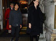 Angelina Jolie, apaisée avec Maddox, remet les pieds à Buckingham