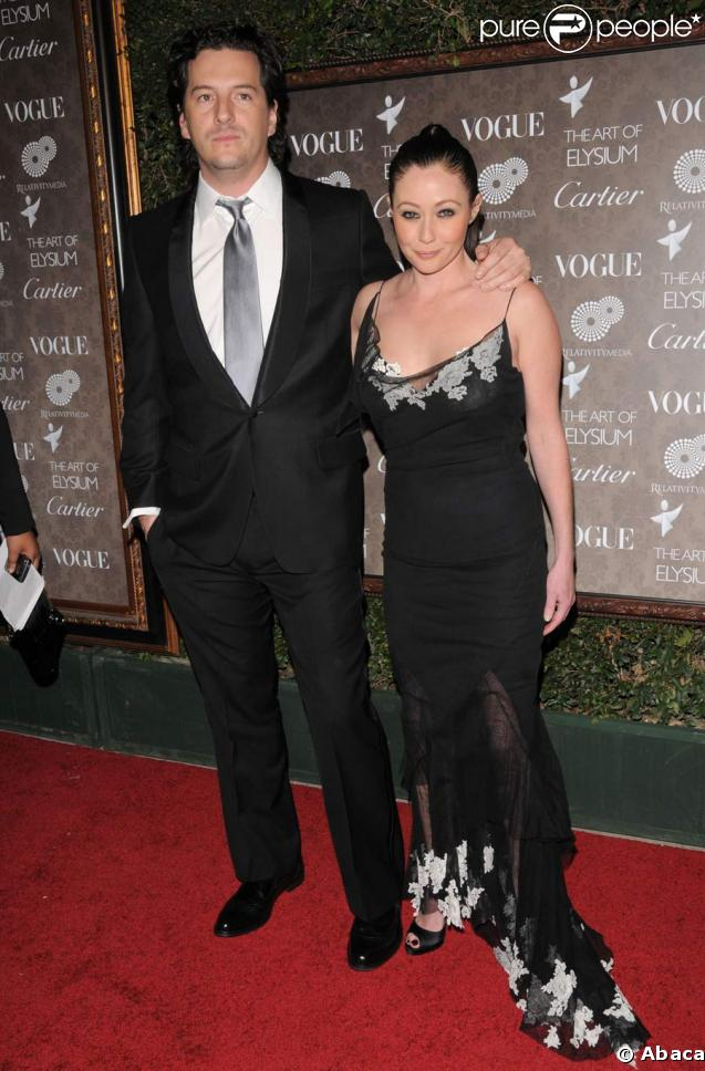 Shannen Doherty couple