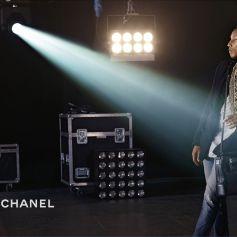 "Pharrell Williams pour la campagne ""Gabrielle"" de Chanel. Mars 2017."