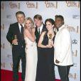 """L'équipe de """"30 Rock"""" et leurs Golden Globes !"""