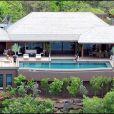 La maison de vacances de Johnny et Laeticia Hallyday, à Saint-Barthélémy.