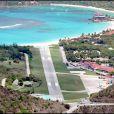 L'aéroport de Saint-Barthélémy.