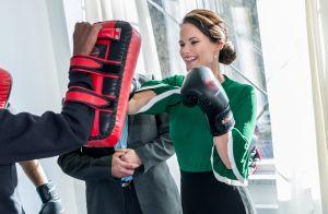 Princesse Sofia de Suède : Boxeuse sexy sous le regard de Carl Philip