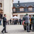 prince Gustav Sayn-Wittgenstein-Berleburg - Obsèques du prince Richard de Sayn-Wittgenstein-Berleburg à Bad Berleburg en Allemagne le 21 mars 2017.21/03/2017 - Bad Berleburg