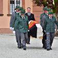 Le prince Gustav Sayn-Wittgenstein-Berleburg - Obsèques du prince Richard de Sayn-Wittgenstein-Berleburg à Bad Berleburg en Allemagne le 21 mars 2017.21/03/2017 - Bad Berleburg