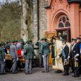 Obsèques du prince Richard de Sayn-Wittgenstein-Berleburg à Bad Berleburg en Allemagne le 21 mars 2017.21/03/2017 - Bad Berleburg