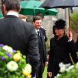 La princesse Martha Louise de Norvège - Obsèques du prince Richard de Sayn-Wittgenstein-Berleburg à Bad Berleburg en Allemagne le 21 mars 2017. 21/03/2017 - Bad Berlebourg