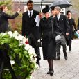 La reine Margrethe de Danemark - Obsèques du prince Richard de Sayn-Wittgenstein-Berleburg à Bad Berleburg en Allemagne le 21 mars 2017. 21/03/2017 - Bad Berlebourg