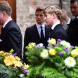 Le comte Richard, petit fils du prince Richard de Sayn-Wittgenstein-Berleburg - Obsèques du prince Richard de Sayn-Wittgenstein-Berleburg à Bad Berleburg en Allemagne le 21 mars 2017. 21/03/2017 - Bad Berlebourg