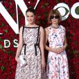 Bee Shaffer et sa mère Anna Wintour - 70ème cérémonie des Tony Awards au Beacon Theatre à New York, le 12 juin 2016. © Sonia Moskowitz/Globe Photos/Zuma Press/Bestimage