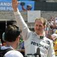 Michael Schumacher participe au grand prix de Monaco le 26 mai 2012.