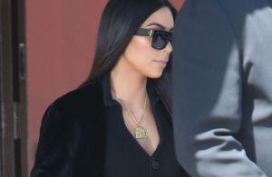 Kim Kardashian et Kanye West unis aux obsèques d'Avery, 17 mois