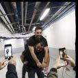 """Exclusif - Kendji Girac dans les backstage de son dernier concert de la tournée """"Ensemble"""" à l'AccorHotels Arena (POPB Bercy) à Paris, le 10 mars 2017."""