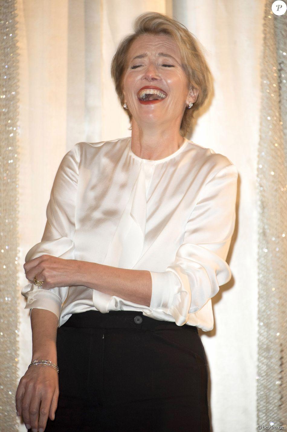 """Emma Thompson - Hommage à Alan Rickman avec la projection du film """"Raison et Sentiments"""" lors du 66ème Festival International du Film de Berlin, La Berlinale. Le 16 février 2016"""