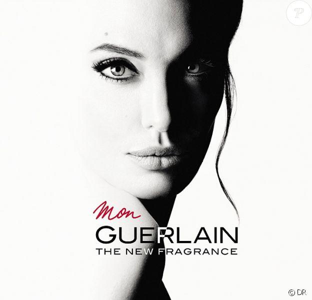 Angelina Jolie, sensuelle et romantique pour Mon Guerlain.