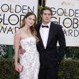 Melissa Benoist et son mari Blake Jenner à La 73ème cérémonie annuelle des Golden Globe Awards à Beverly Hills, le 10 janvier 2016. © Olivier Borde/Bestimage