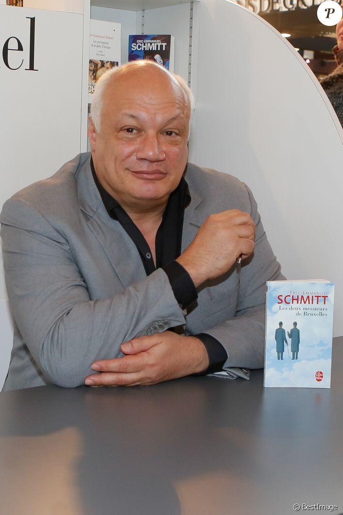 Eric emmanuel schmitt 35 me salon du livre au parc des for Salon a porte de versaille 2015