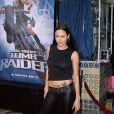 Angelina Jolie à la première de Lara Croft : Tomb Raider à Los Angeles en juin 2001.