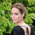 """Angelina Jolie - Première du film """"Maleficent"""" à Londres le 8 mai 2014."""