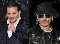 Johnny Depp : Joues émaciées et traits tirés, l'acteur a perdu beaucoup de poids