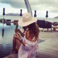 Brooke Burke en vacances aux Antilles - Photo publiée sur Instagram le 29 mars 2017