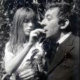 Jane Birkin et Serge Gainsbourg, photo d'archives au début de leur relation.