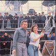 Serge Gainsbourg et Jane Birkin en novembre 1984.