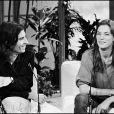 Jane Birkin et Jacques Doillon sur un plateau télé en 1981.