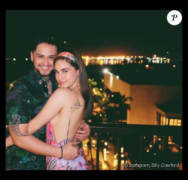 Billy Crawford fait une belle déclaration d'amour à sa fiancée Coleen Garcia sur Instagram le 3 avril 2017.