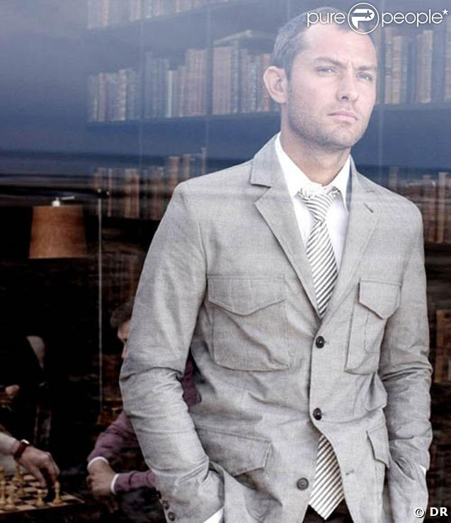 Jude Law pour Dunhill