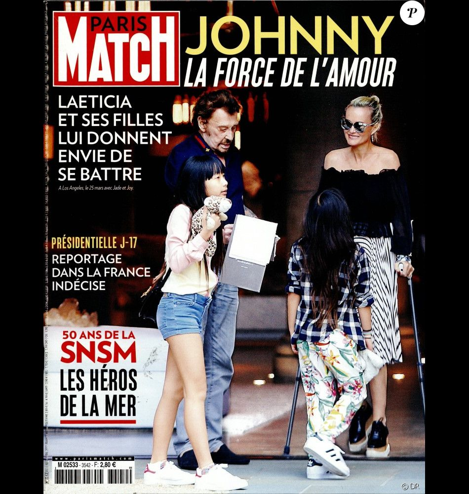 couverture du magazine paris match en kiosques le 5 avril 2017 purepeople. Black Bedroom Furniture Sets. Home Design Ideas