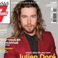 Julien Doré en couverture de Télé 7 jours, en kiosques le 10 avril 2017