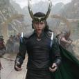"""Tom Hiddleston dans Thor : Ragnarok."""
