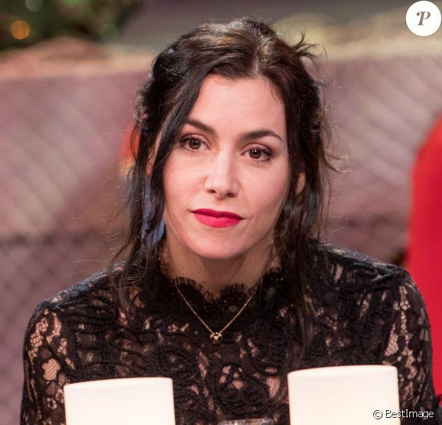 Exclusif - Olivia Ruiz - Enregistrement de l'émission MerciBrassens, dans les studios de La Plaine Saint-Denis. Le 31 janvier 2017 © Cyril Moreau / Bestimage