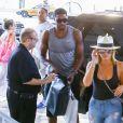 Kim Kardashian fait du shopping avec sa fille North West à Bal Harbour. Ensuite, Kim et North sont allées déjeuner avec Khloe Kardashian et son nouveau compagnon Tristan Thompson. Le 18 septembre 2016