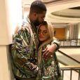 Photo de Khloé Kardashian et Tristan Thompson. Décembre 2016.