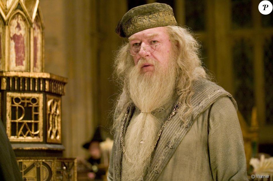 Michael Gambon dans la peau d'Albus Dumbledore.