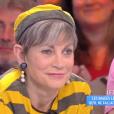 """Alain, le mari d'Isabelle Morini Bosc. Emission """"Touche pas à mon poste"""" sur C8. Le 10 avril 2017."""
