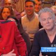 """Matthieu Delormeau et Franck Dubosc. Emission """"Touche pas à mon poste"""" sur C8. Le 10 avril 2017."""