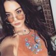 Vanessa Hudgens à Indio pour le Coachella Festival le 14 avril 2017