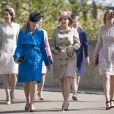 Catherine Kate Middleton, la duchesse de Cambridge, Autumn Phillips et la princesse Beatrice d'York et sa soeur la princesse Eugénie d'York - La famille royale britannique assiste à la messe de Pâques à la chapelle Saint-Georges de Windsor, le 16 avril 2017