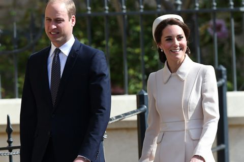 Kate Middleton et William : Elégant duo de Pâques face à la reine Elizabeth II