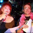 Régine et l'impossible Didier Wampas lors de la promo de l'album  Regine's Duets  chez... Regine's !