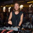 David Guetta au Gotha à Cannes le 10 août 2013.