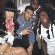 "Illustration du single ""No Frauds"" de Nicki Minaj, feat. Drake et Lil Wayne."